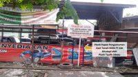 Lokasi Aset PT KAI (Persero) di Medan di garap Anak Arifin Sitepu dan menutup plang aset yang sah milik PT KAI dengan plang aset buatan yang buktinya hanya berdasarkan SK Camat. (Foto: Net)