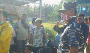 Operasi TNI AL cegah penyebaran Covid-19