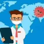 Pandemi Coroba menyebar ke seluruh dunia. (Ilustrasi: Pixbay)