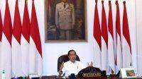 Presiden Jokowi Resmi Melarang Warganya Mudik Lebaran. (Foto: Setpres)
