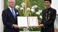Presiden Jokowi saat menerima Raja Swedia Carl XVII Gustaf membicarakan kerjasama energi. (Foto: KSP)
