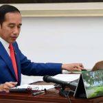 Presiden Jokowi tengah digugat oleh pedagang eceran. (Foto: Setpres)