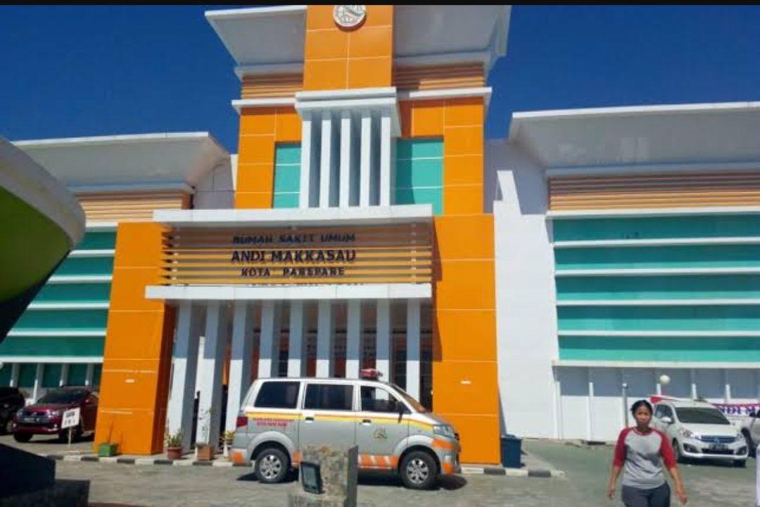 Rumah Sakit Umum Daerah (RSUD) Andi Makkasau Kota Parepare. (Foto: Istimewa)