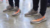 Sneakers Yezzy. (Foto: Fanya Houghton)