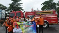 Tim Gabungan Pemprov Banten Lakukan Penyemprotan Dinsinfektan
