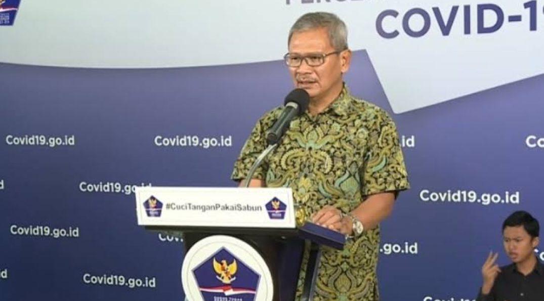 Achmad Yurianto Jubir Penanganan Covid-19 di Indonesia. (Dok. BNPB)