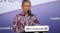 Achmad Yurianto Jubir Penanganan Covid-19. (Dok.BNPB)