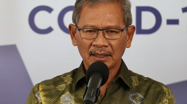 Achmad Yurianto Selaku Jubir Penanganan Virus Corona