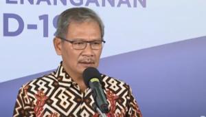 Achmad Yurianto Selaku Juru Bicara Pemerintah terkait Covid-19