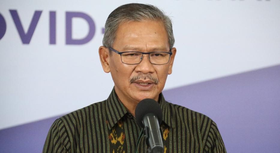 Achmad Yurianto selaku Juru Bicara Pemerintah untuk COVID-19