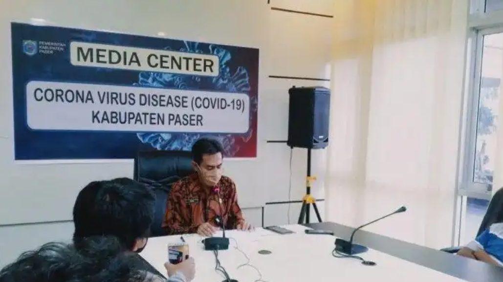 Amir Faisol Jubir gugus tugas penanggulangan covid-19 Kabupaten Paser.