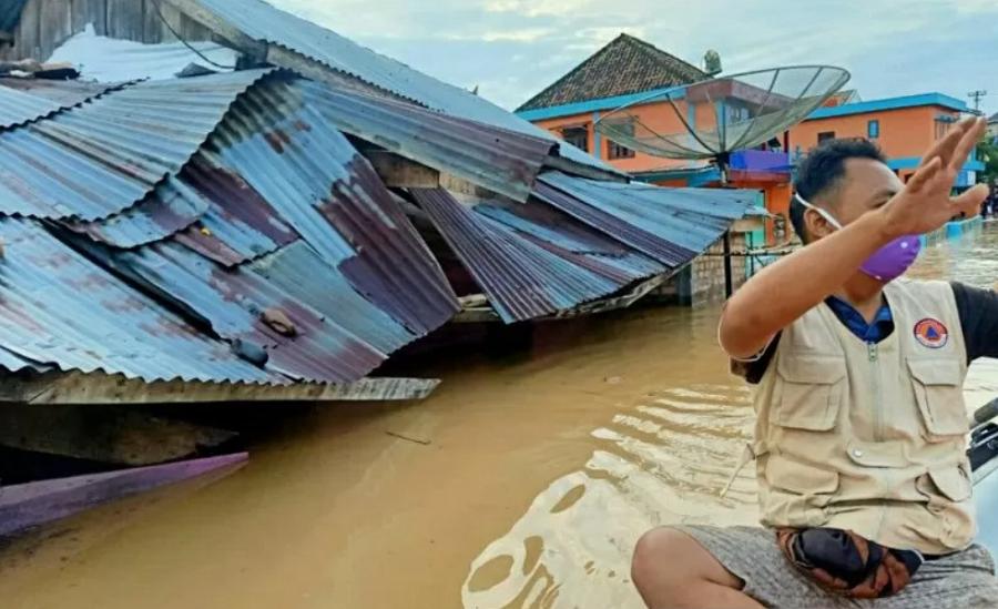Banjir di Kabupaten OKU Selatan