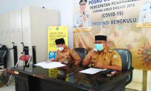 Dinas Kesehatan Provinsi Bengkulu membuka posko rapid test dan Polymerase Chain Reaction. (Dok. Pemprov Bengkulu)