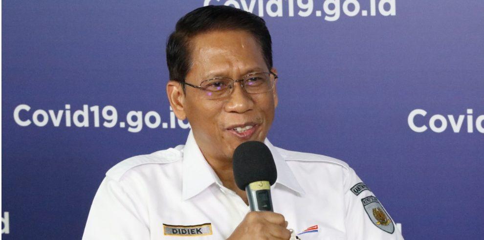 Direktur Utama PT KAI Didiek Hartantyo (Dok. BNPB)