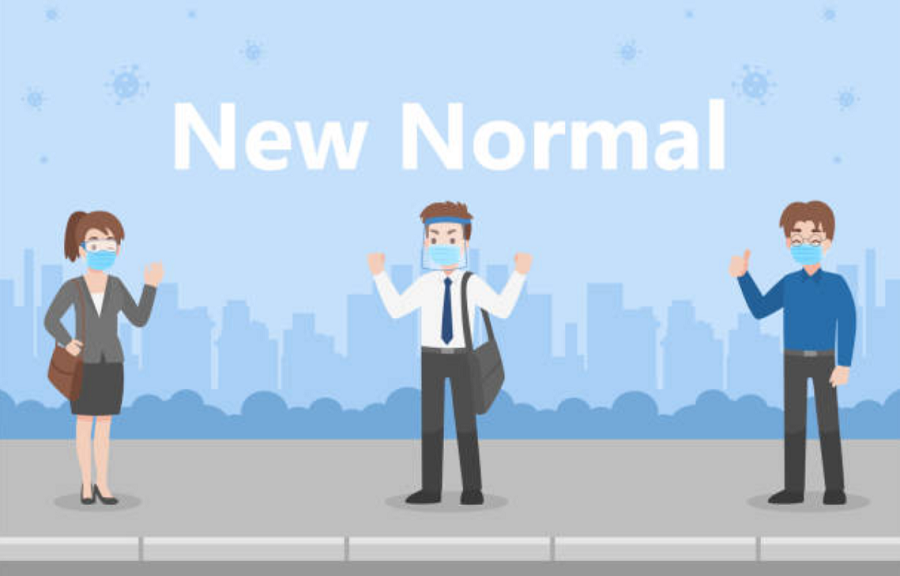 Ilustrasi Pelaksanaan New Normal