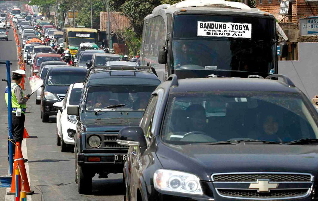 Ilustrasi pengaturan arus lalu lintas. (Foto: Ayobandung)