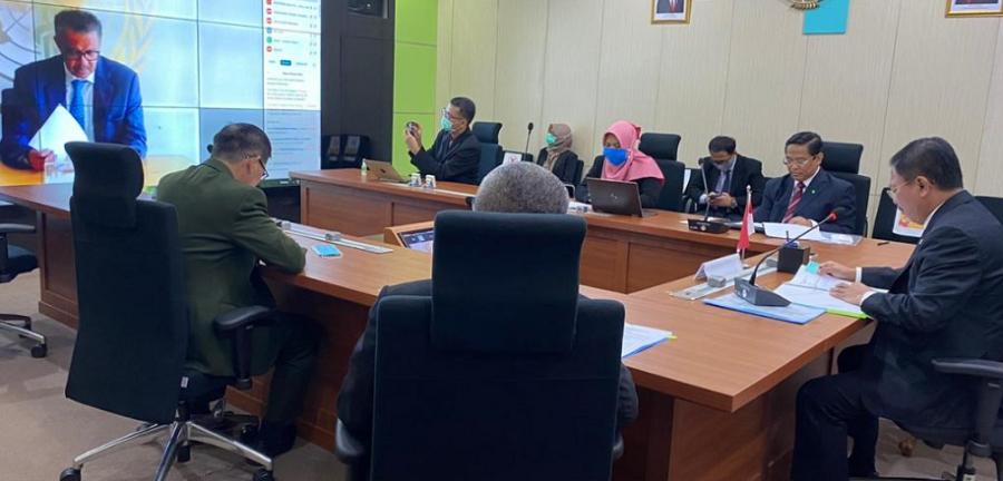 Indonesia Pimpin Foreign Policy and Global Health Dukung Upaya Global Akhiri Pandemi COVID-19.
