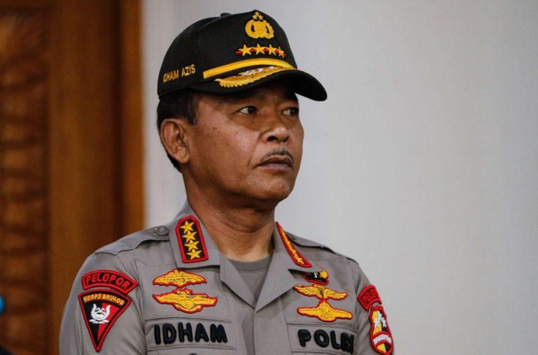 Kapolri, Jenderal Polisi Idham Azis. (Foto: Kompas.com)