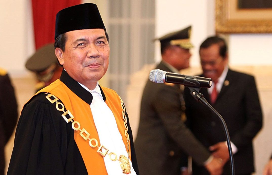 Ketua Mahkamah Agung RI Dr Syarifuddin. (Foto: Media Indonesia)