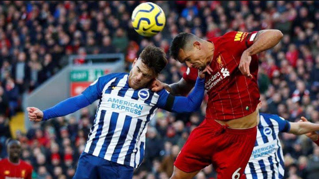 Laga Brighton & Hove Albion vs Liverpool. (Foto: Reuters)