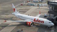 Lion Air PK-LQP Boeing 737 MAX 8 sedang parkir. (Foto: Paul Christian Gordon-Lion Air)
