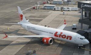 Lion Air PK-LQP Boeing 737 MAX 8 sedang parkir. (Foto: Paul Christian Gordon-Lion Air)