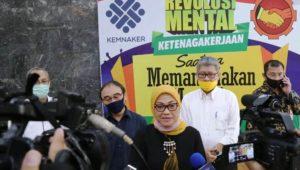 Menteri Ketenagakerjaan, Ida Fauziyah. (Foto: Jurnalpatroli)