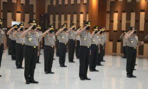Pelantikan kenaikan pangkat perwira tinggi Polri. (Foto: Polri)