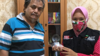 Penyerahan Dirham Kepada ACT Lampung
