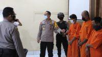 Polda Bali tangkap pembuat surat keterangan sehat dari Corona palsu. (Dok. Polda Bali)