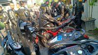 Polda DIY kembali mengamankan pengendara motor yang terlibat dalam aksi balap liar di daerah Stadion Maguwoharjo. ( Foto: Headline.co.id )