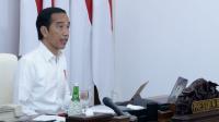 Presiden Jokowi berharap agar para petani dan nelayan mampu bertahan dan tetap menjalankan aktivitas produksinya