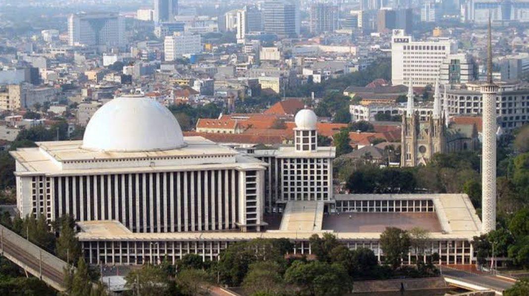 Renovasi Masjid Istiqlal rampung akhir Juni 2020. (Foto: Beritabaik.com)
