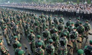 TNI-Polri disiagakan menjelang New Normal. (Foto: Istimewa)