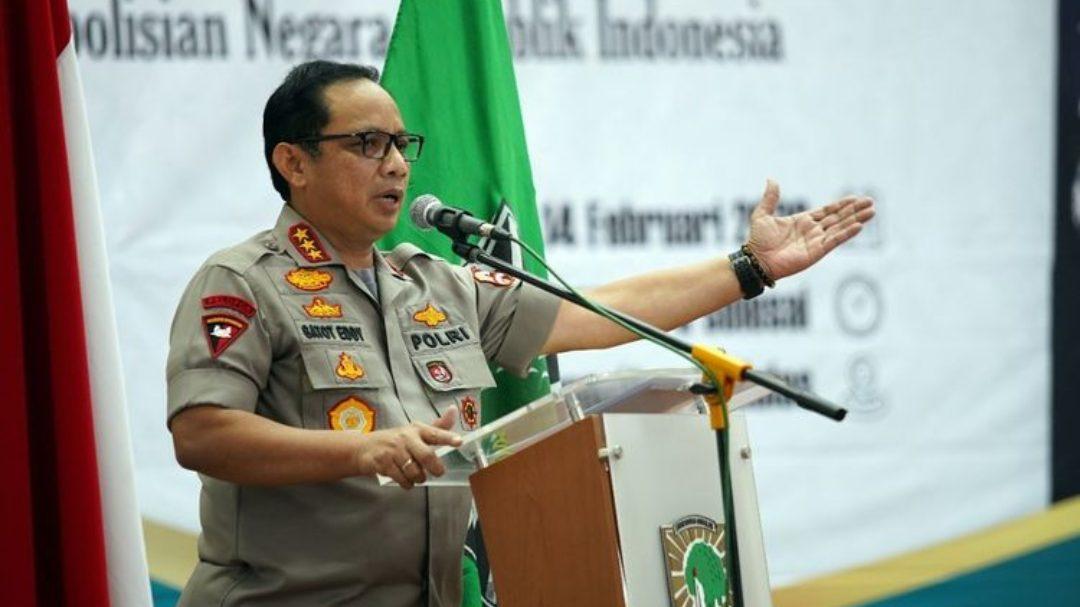 Wakapolri Komjen Pol Gatot Eddy Pramono. (Foto: Kompas.com)