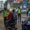 Ditlantas Polda Banten lakukan Penyekatan dan Berikan Himbauan