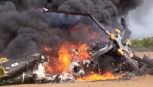 Helikopter TNI AD jatuh di Kendal