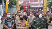 Kapolda Jawa Tengah Irjen Ahmad Luthfi saat berkunjung ke Kampung Siaga Covid-19