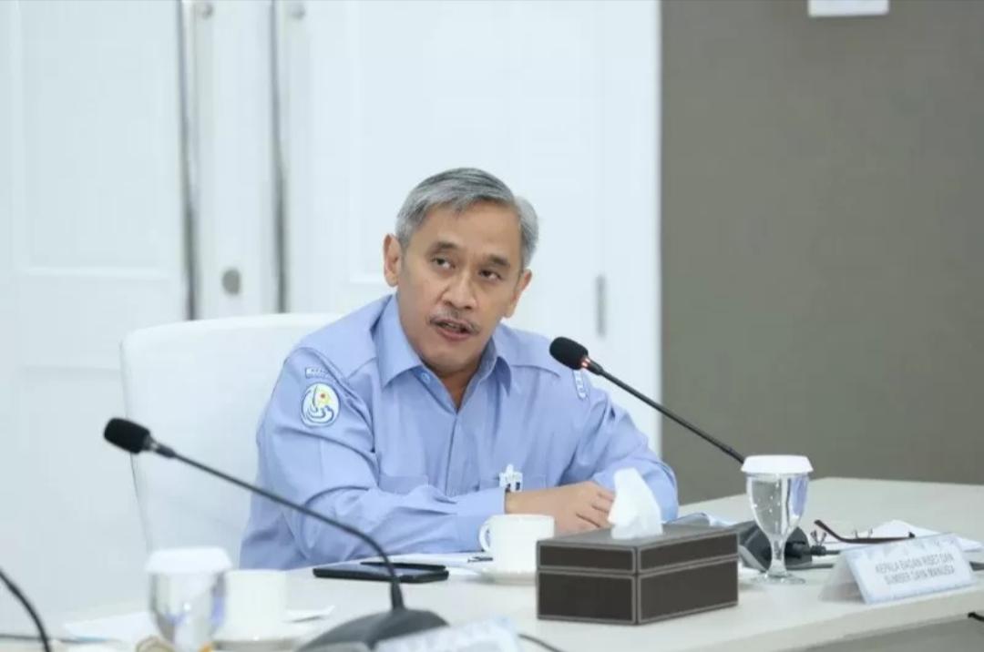 Kepala Badan Riset dan SDM Kelautan dan Perikanan KKP Sjarief Widjaja