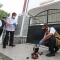 Ketua Gugus Tugas Percepatan Penanganan COVID-19 Doni Monardo meresmikan Rumah Sakit (RS) Lapangan Provinsi Jawa Timur Indrapura