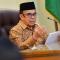 Menteri Agama Fachrul Razi memberi keterangan pers di Kantor Kementerian Agama