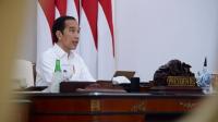 Presiden Joko Widodo memimpin Rapat Koordinasi Nasional Pengawasan Intern Pemerintah Tahun 2020