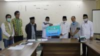 Prosesi Serah Terima Zakat ASN Pemprov Banten