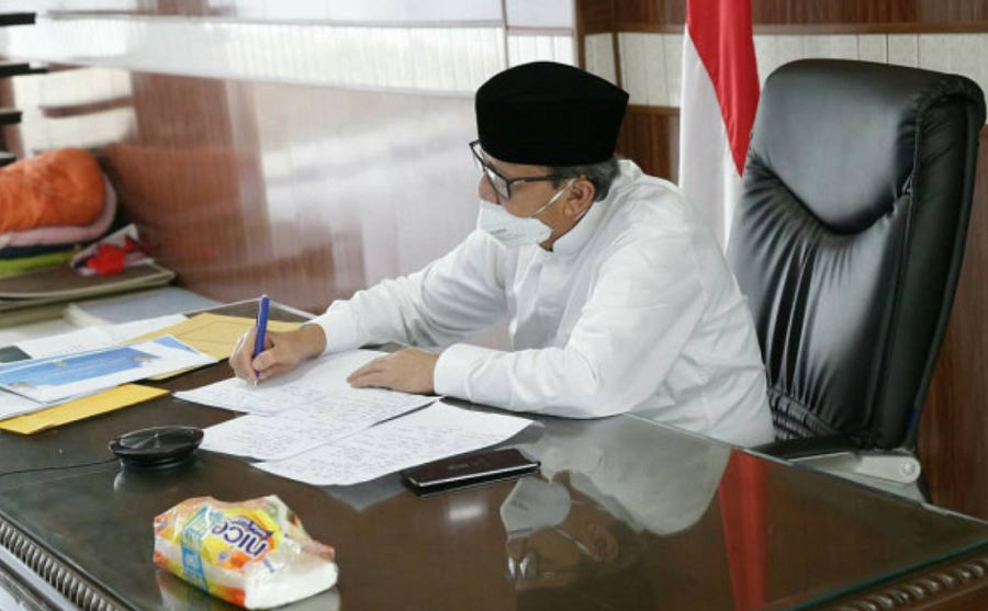 Wahidin Halim Selaku Gubernur Banten