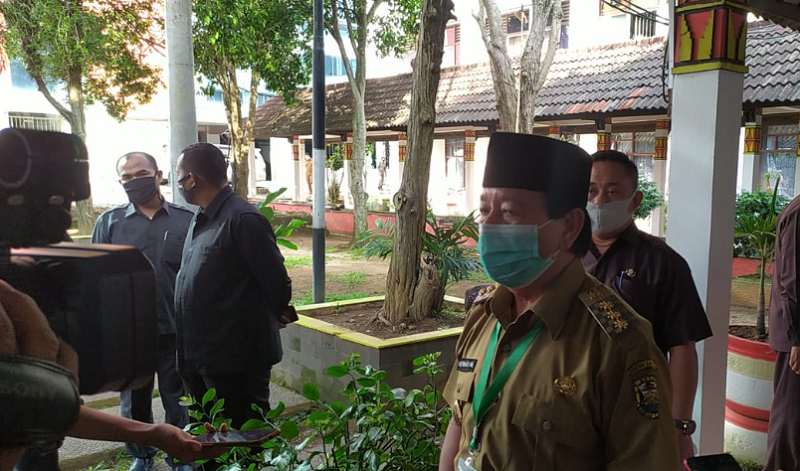 Wali Kota Bandarlampung Herman HN