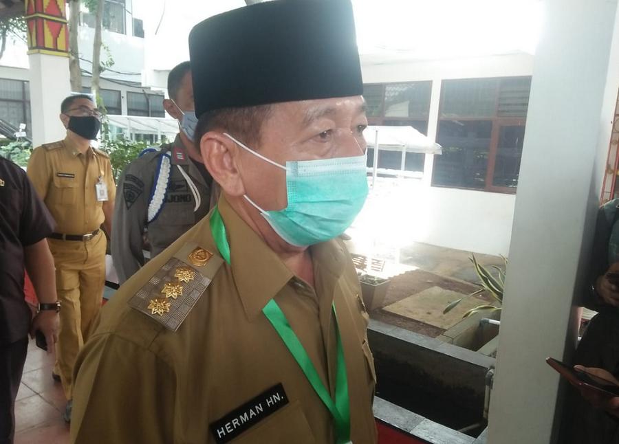 Walikota Bandarlampung Herman HN