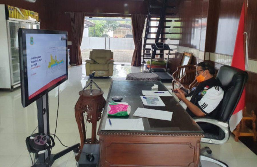 Gubernur Banten Wahidin Halim Perpanjang Masa PSBB