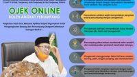 Gubernur WH Izinkan Ojek Online Boleh angkut Penumpang