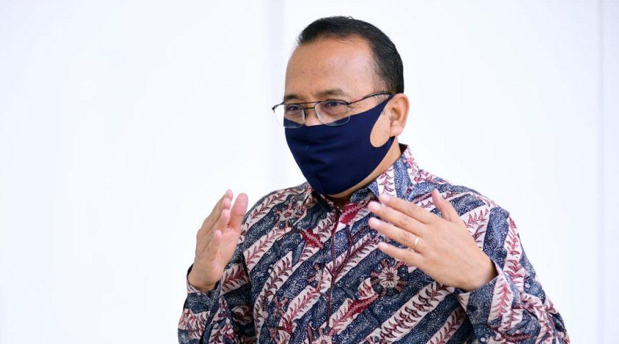 Menteri Sekretaris Negara Pratikno dalam keterangannya di Istana Kepresidenan Bogor