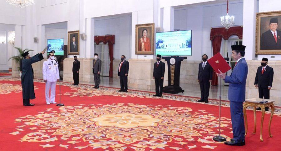 Presiden Jokowi Melantik Gubernur Kepulauan Riau